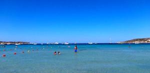 Mellieha Bay plage de sable à Malte